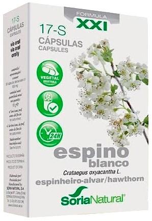 ESPINO BLANCO CAPSULAS 17S SORIA NATURAL