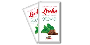 CHOCOLATE CON LECHE Y STEVIA  100 Gr. SIN GLUTEN - SOLE