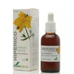 HIPERICO EXTRACTO NATURAL 50 ml. SORIA NATURAL