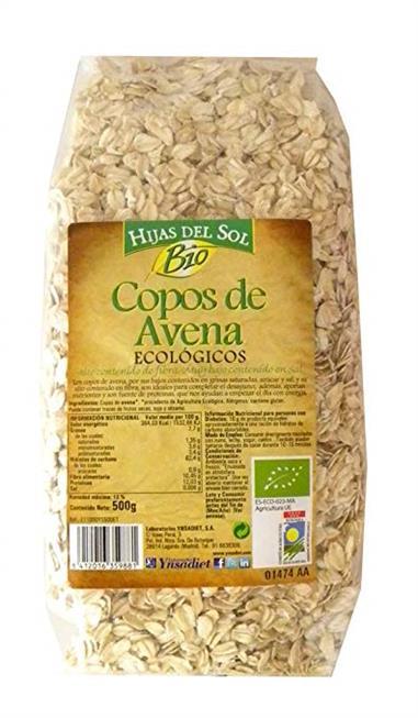 COPOS DE AVENA ECO 500 Gr. YNSADIET