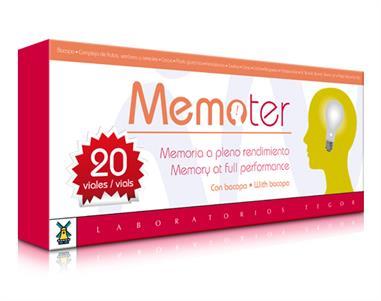 MEMOTER 20 Viales. 10 ml.  200ml.